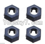 Wltoys A979 Parts-41 Official Hexagonal round seat(4pcs)