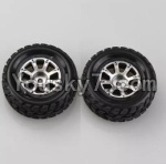 Wltoys A979 Parts-48 Official Right Wheel(2pcs)