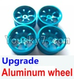 Wltoys A979 Parts-50 Upgrade Aluminum wheel(4pcs-Not include the Tire leather)