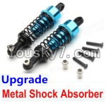 Wltoys A979 Parts-72 Upgrade Metal Shock Absorber(2pcs)-Blue