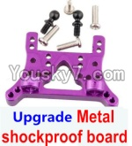 Wltoys A979 Parts-78 Upgrade Metal shockproof board-Gold