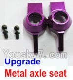 Wltoys K929-B-04-18 Parts-Upgrade Metal axle seat-Purple