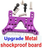 Wltoys K929-B-12-09 Parts-Upgrade Metal shockproof board-Purple