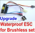 Wltoys K929-B-13-08 Parts-Upgrade waterproof ESC for the Brushless set