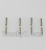 Wltoys K929-B-44 Parts-A949-51 Differential Hinge Pin(1.5mmX15.8mm)-4pcs
