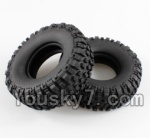 Wltoys K949 Parts-02-01 Tire lether(2pcs)