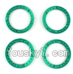 Wltoys K949 Parts-04 Tire positioning ring(4pcs)