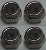 Wltoys K949 Parts-108 M2.5 Locknut(4pcs)