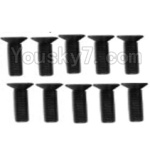 Wltoys K949 Parts-113 A929-61 Countersunk head inner hexagon Screws-M3X12-Black zinc plated(10PCS)