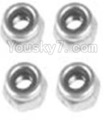 Wltoys K949 Parts-124 A929-95 M3 Locknut(4PCS)