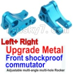 Wltoys K949 Parts-14-03 Upgrade Metal Front shockproof commutator(Left and Right)-Blue