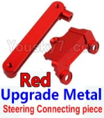 Wltoys K949 Parts-15-02 Upgrade Metal Steering connecting piece-Red