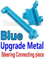 Wltoys K949 Parts-15-03 Upgrade Metal Steering connecting piece-Blue