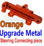 Wltoys K949 Parts-15-04 Upgrade Metal Steering connecting piece-Orange