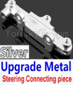Wltoys K949 Parts-15-05 Upgrade Metal Steering connecting piece-Silver