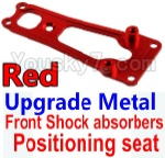 Wltoys K949 Parts-16-02 Upgrade Metal Front Shock absorbers Positioning seat-Red