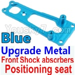 Wltoys K949 Parts-16-04 Upgrade Metal Front Shock absorbers Positioning seat-Blue