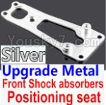 Wltoys K949 Parts-16-05 Upgrade Metal Front Shock absorbers Positioning seat-Silver