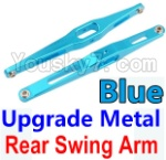 Wltoys K949 Parts-29-03 Upgrade Metal Rear Swing Arm-Blue-2pcs