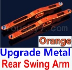 Wltoys K949 Parts-29-04 Upgrade Metal Rear Swing Arm-Orange-2pcs