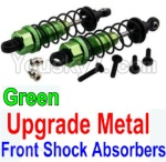 Wltoys K949 Parts-36-06 Upgrade Metal Front Shock Absorbers(2pcs)-Green