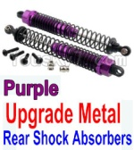 Wltoys K949 Parts-37-03 Upgrade Metal Rear Shock Absorbers(2pcs)-Purple