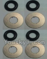 Wltoys K949 Parts-70 Flat Washer(Total 4set,8pcs)