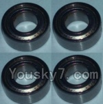 Wltoys K949 Parts-81 Bearing(4X8X3)-4pcs