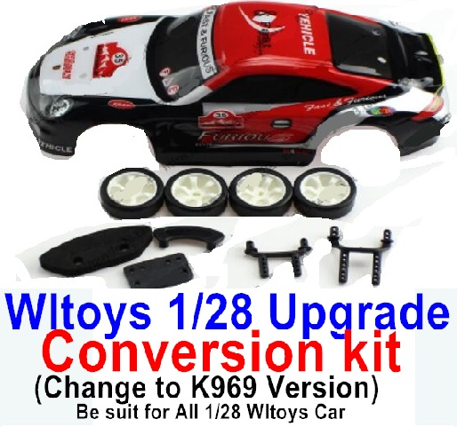 Wltoys K969 Upgrade Conversion kit