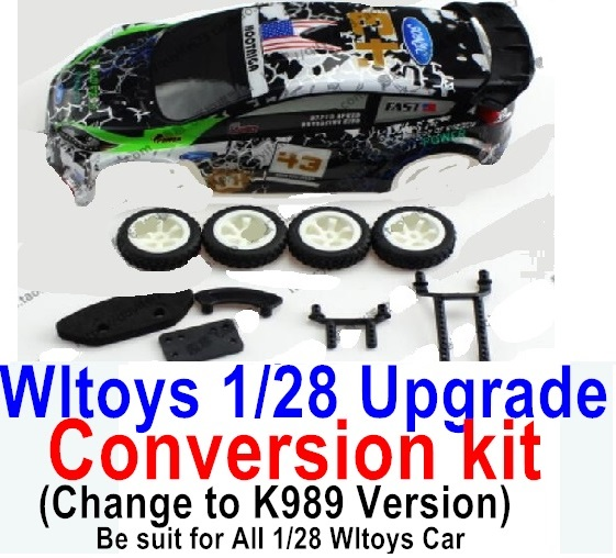 Wltoys K989 Upgrade Conversion kit