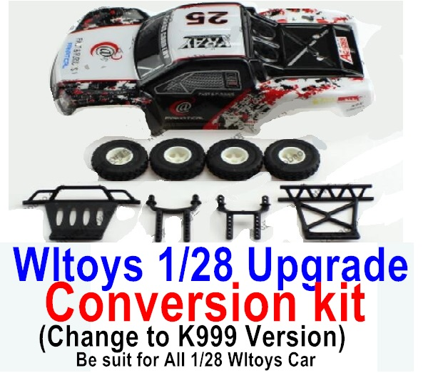 Wltoys K999 Upgrade Conversion kit