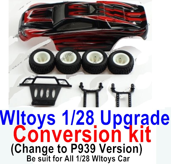 Wltoys P939 Upgrade Conversion kit