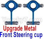 Wltoys K999 Spare Parts-65-01 Upgrade Metal Front Steering Cup(2pcs)
