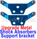 Wltoys P929 Spare Parts-65-03 Upgrade Metal Shock Absorbers Support bracket(2pcs)