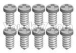 Wltoys K999 Spare Parts-70-02 K989-12 Screws(10pcs)-1.2X3PA