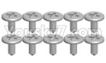 Wltoys P929 Spare Parts-70-03 K989-13 Screws(10pcs)-1.2X3.5SA