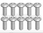 Wltoys P929 Spare Parts-70-11 K989-22 Screws(10pcs)-2X5KB