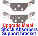 Wltoys K999 Spare Parts-72-03 Upgrade Metal Shock Absorbers Support bracket(2pcs)-Gray
