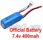 Wltoys K999 Parts-02 Official WLtoys 7.4V 400mAh