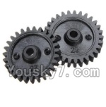 Wltoys K999 Parts-26 Reduction gear(2PCS)