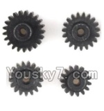 Wltoys K999 Parts-27 Main gear(4pcs)