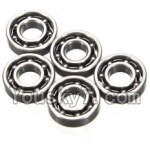 Wltoys K999 Parts-43 Bearing(3X7X2mm)-5pcs
