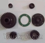 Wltoys L303 Spare Parts-14 Transmission gear(Total 7pcs)