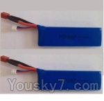 Wltoys L303 Spare Parts-61-02 7.4v 2500mah 25c Battery(2pcs)