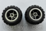 Wltoys L343 Spare Parts-03 Rear whell unit(2pcs)