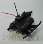 Wltoys L343 Spare Parts-10 Rear gear box unit
