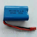 Wltoys L343 Spare Parts-15-01 6.4V Battery,6.4V Lithium-iron battery(1pcs)