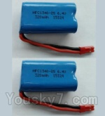 Wltoys L343 Spare Parts-15-02 6.4V Battery,6.4V Lithium-iron battery(2pcs)