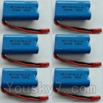 Wltoys L343 Spare Parts-15-03 6.4V Battery,6.4V Lithium-iron battery(6pcs)