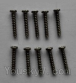 Wltoys L343 Spare Parts-19 Round head self-tapping screws(10pcs)-M2×12